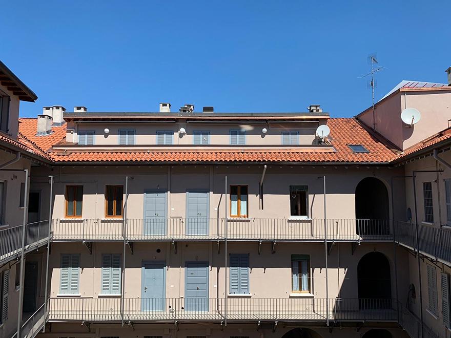 Milano: il primo condominio riqualificato